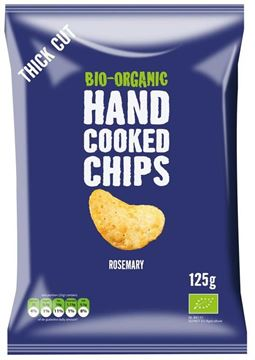 Picture of Handcooked Chips Rosmarin und Himalaya Salz, Trafo, 125g