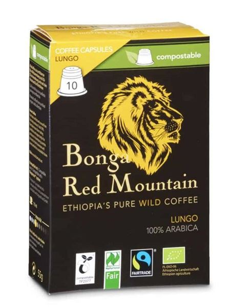 Picture of Kapseln Lungo, Bonga Red Mountain, 10Stk.