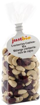 Picture of Cranberries-Cashew Mix, Just Bio, 200g