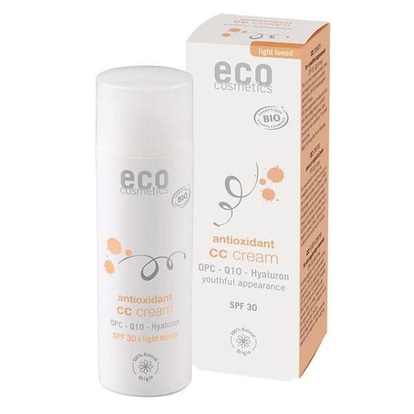 Picture of CC Creme OPC LSF 30 getönt hell, Eco Cosmetics, 50ml