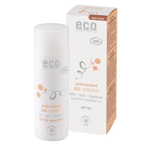 Picture of CC Creme OPC LSF 50 getönt dunkel, Eco Cosmetiks, 50ml