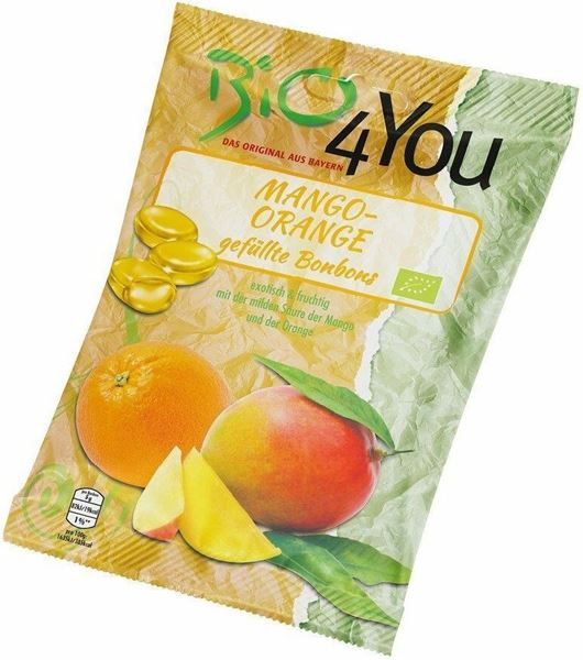 Picture of Mango-Orange Bonbons, Bio4You, 75g