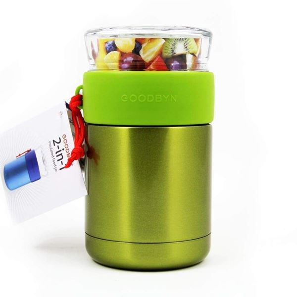 Picture of 2-in-1 food jar green, Goodbyn, 1Stk.