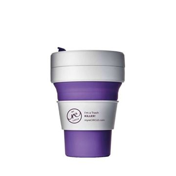 Picture of Collapsible Cup Violett, Stojo, 3.5dl