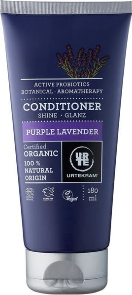 Bild von Conditioner Glanz Purple Lavender, Urtekram, 180ml