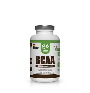 Picture of BCAA Kapseln, Be Green, 120 Stk.