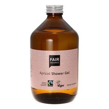 Bild von Apricot Shower Gel, Fair Squared, 500ml